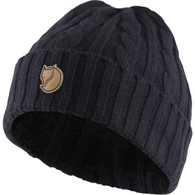 Fjällräven Braided Knit Hat navy